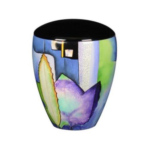 Urne funéraire couleurs en résine