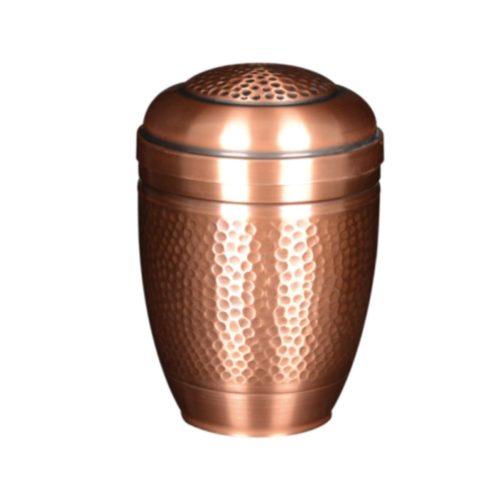 urne funéraire cuivre