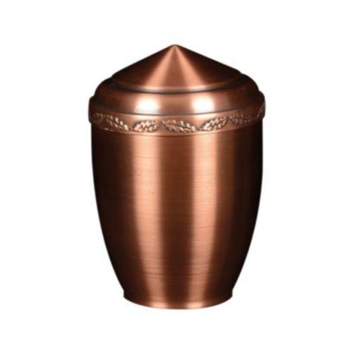 Urne funéraire en cuivre