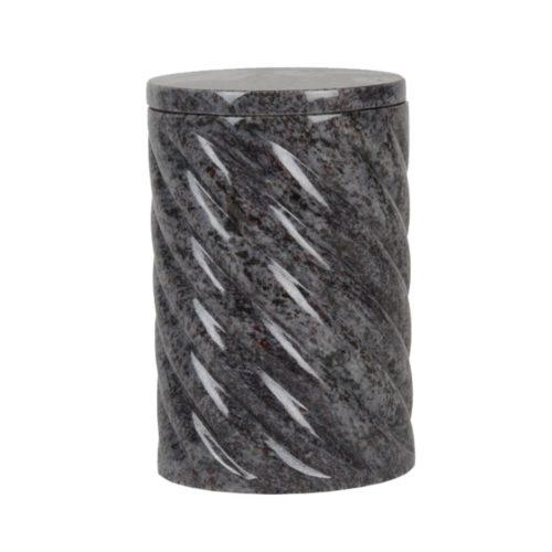 Urne funéraire cylindre granit