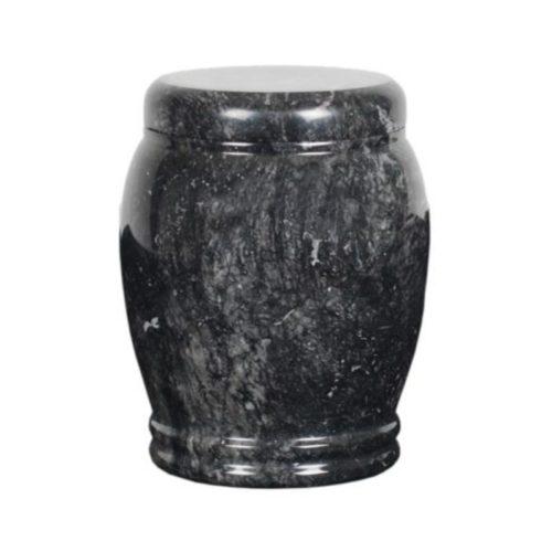 Urne funéraire grise granit