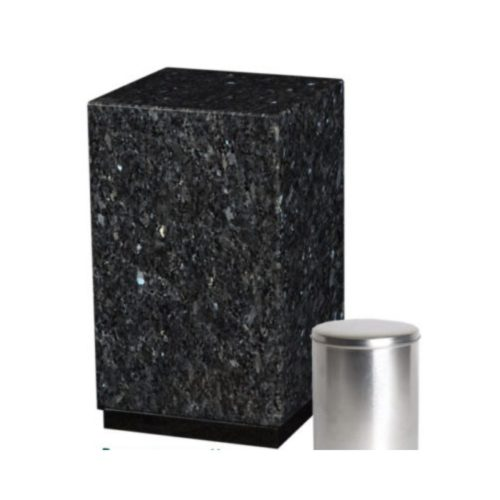 Urne funéraire labrador en granit