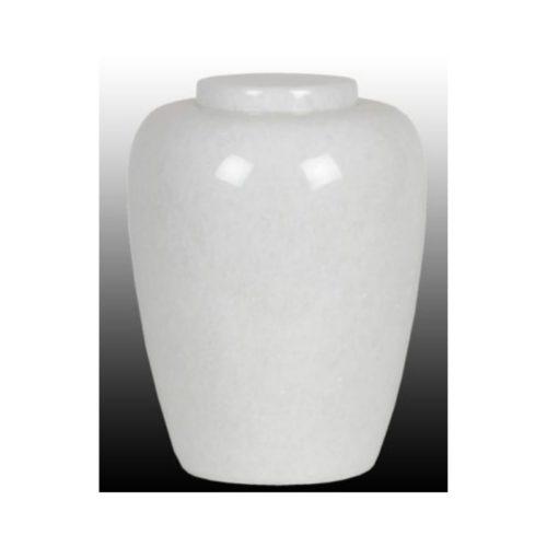 Urne funéraire blanc pierre
