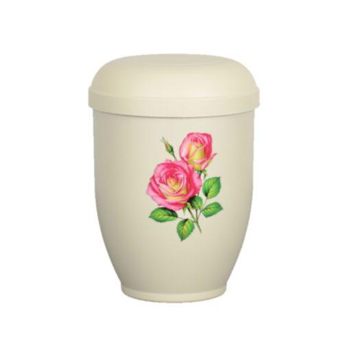 Urne funéraire biodégradable rose