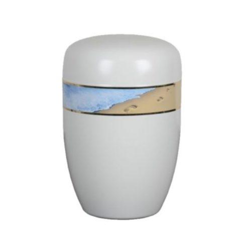 Urne funéraire sable acier