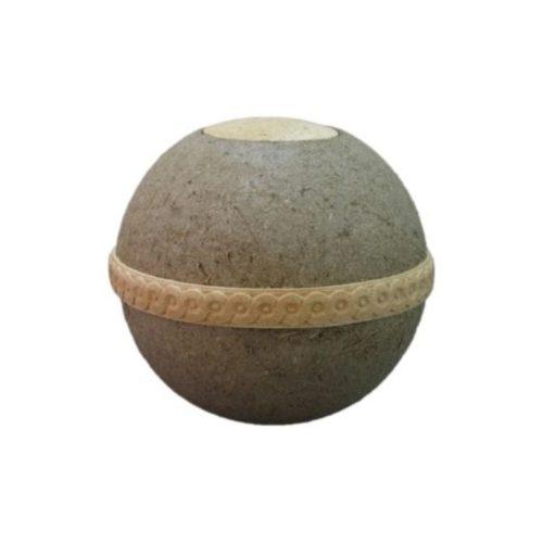 Urne funéraire sphère biodégradable