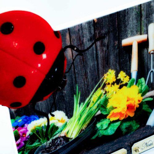 Plaque funéraire personnalisée